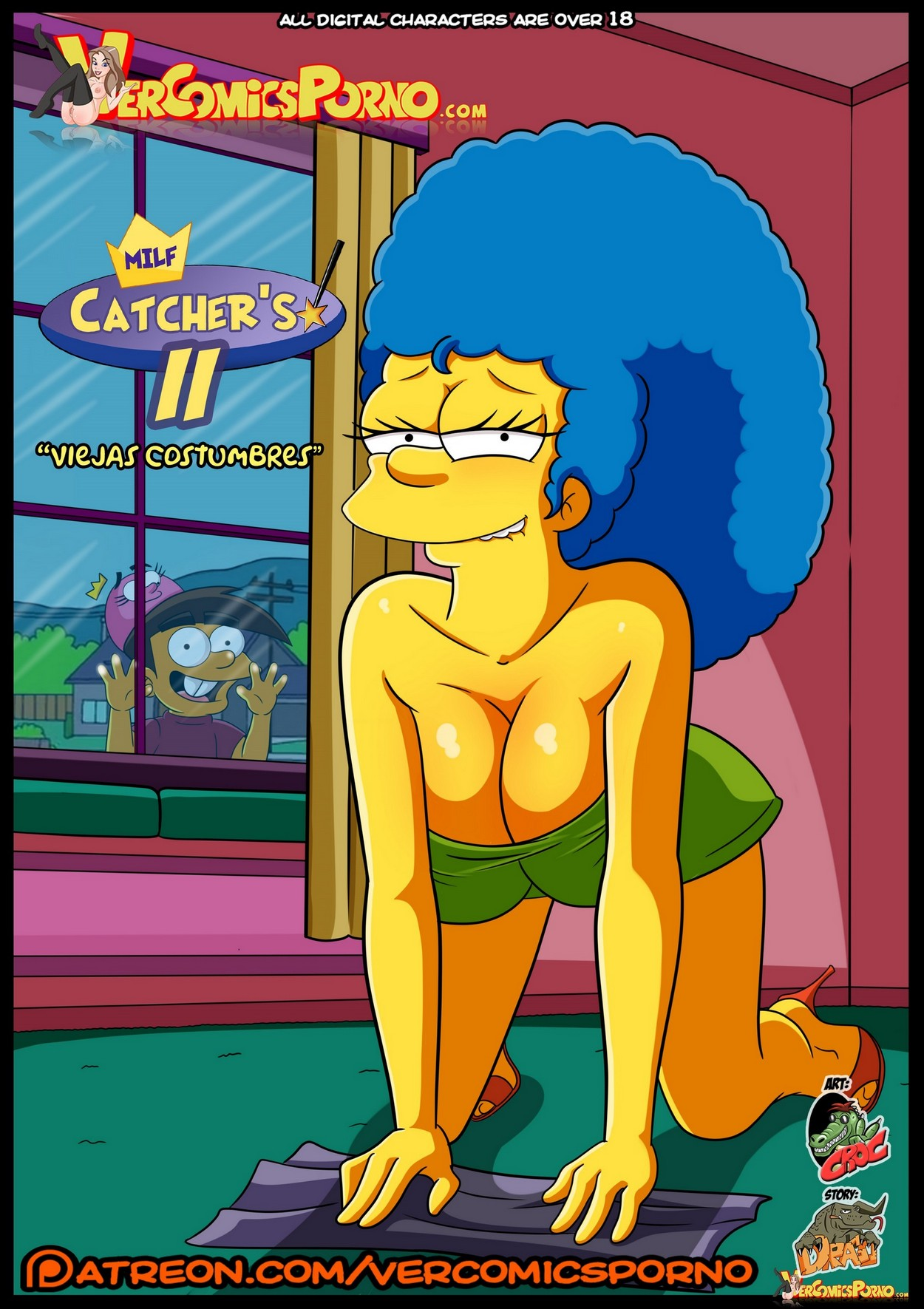 Marge porno Marge Hentai