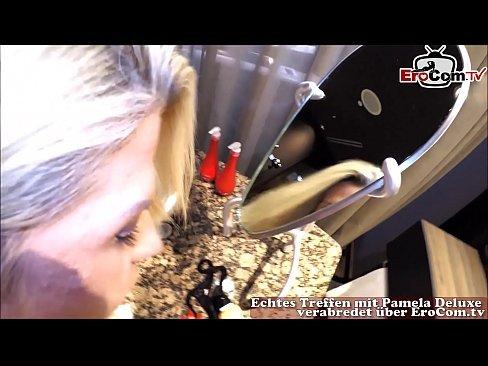Blondine Deutsch Reife Amateur
